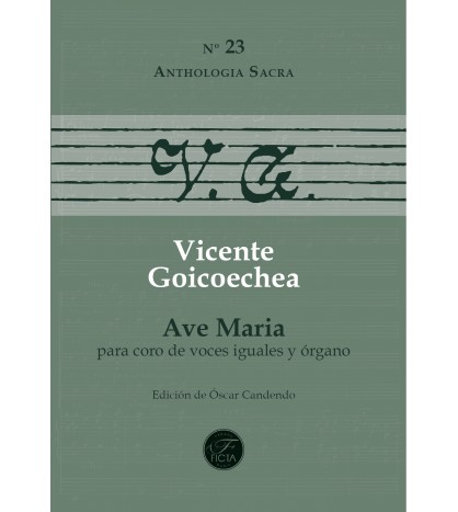 Ave Maria (equal voices and organ)