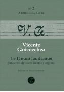 Te Deum laudamus para coro (SATB) y órgano