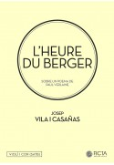 L'heure du berger for choir (SATB) and violin