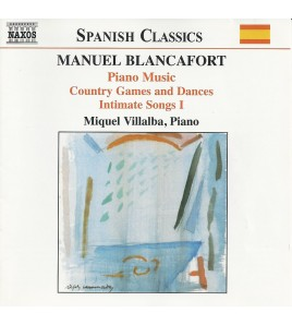 Manuel Blancafort: Piano Music. Vol. 2