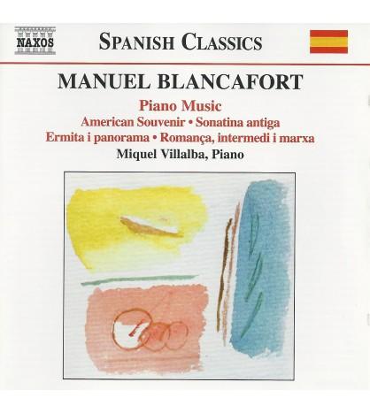 Manuel Blancafort: Piano Music. Vol. 1