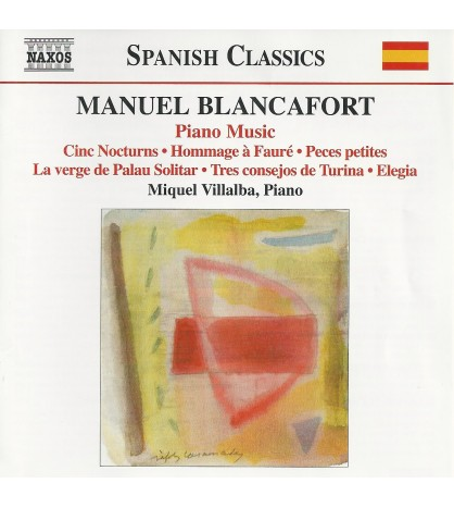 Manuel Blancafort: Piano Music. Vol. 5