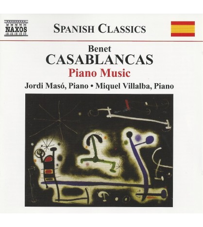 Benet Casablancas: Piano Music
