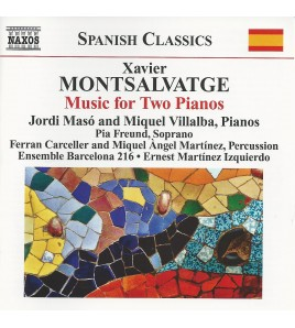 Xavier Montsalvatge: Piano Music, Vol. 3