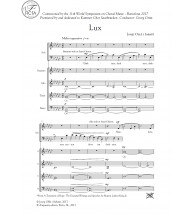 Lux - choir (SATB)