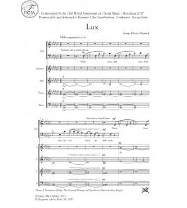 Lux - Cor (SATB)