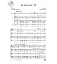La casa que vull - Cor (SATB) - Xavier Pastrana - Salvat-Papasseit