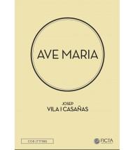 Ave Maria - Coro (TTTBB) - Josep Vila Casañas