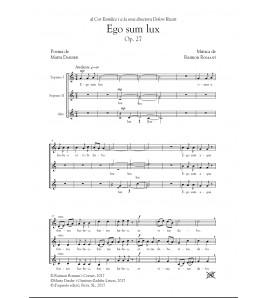 Ego sum lux - Cor (SSA) by Raimon Romaní