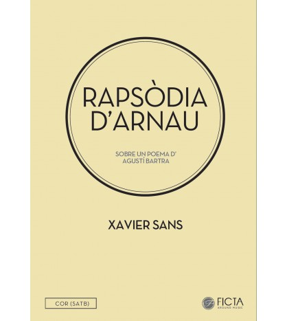 Rapsòdia d'Arnau - Choir (SATB) - Xavier Sans