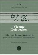 Litaniæ Lauretanæ (Nº 2) per a cor (STTB) i orgue