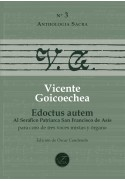 Edoctus autem for choir (STB) and organ