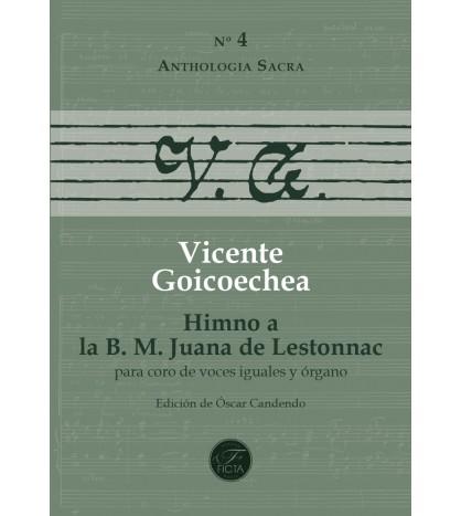 Himno a la B. M. Juana de Lestonnac for choir (SSAA) and organ