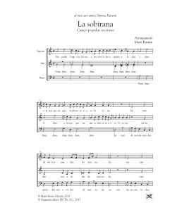La Sobirana (Occitan folk song - Choir SAB)