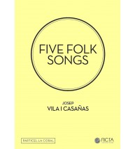Cinc cançons tradicionals (SA - piano) particel·la