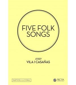 Five folk songs ( SA - piano ) - vocal score