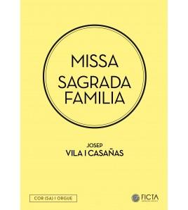 Missa Sagrada Familia - Choir (SA) and organ