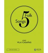 Cinc cançons tradicionals (SA - piano)