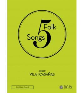 Cinco canciones tradicionales (SA - piano)