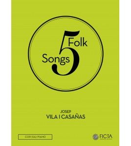 Five folk songs ( SA - piano )