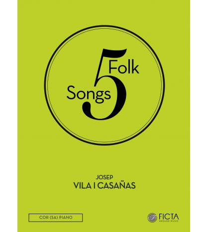 Five folk songs ( SA - piano )