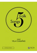 Five folk songs (SA - piano)