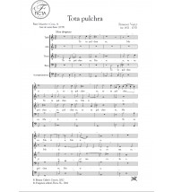Tota pulchra - Coro (SATB) y cont.