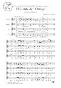El Comte de l'Orange - Choir (SSAA)