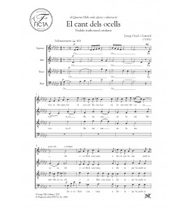 El Compte de l'Orange - Choir (SSAA)