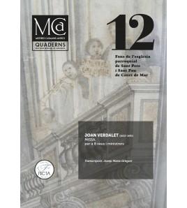 Mestres Catalans Antics vol.12