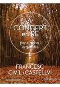 Concierto en Re para piano y orquesta