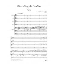 Missa Sagrada Família - Coro (SATB) y órgano
