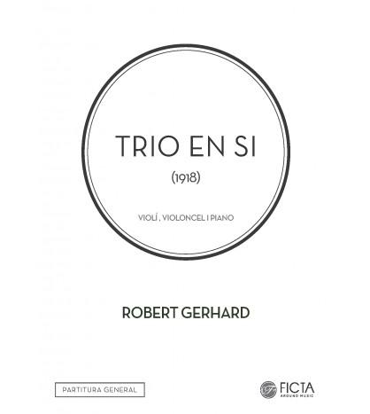 Trio en Si per a violí, violoncel i piano