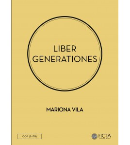 Liber generationes - Cor SATB