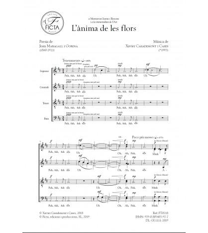 L'ànima de les flors - Xavier Casademont - Joan Maragall
