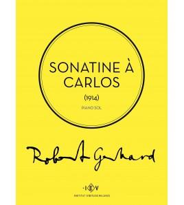 Sonatine à Carlos - Robert Gerhard - piano