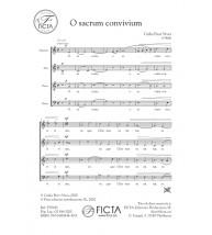 O sacrum convivium - Cor (SATB)
