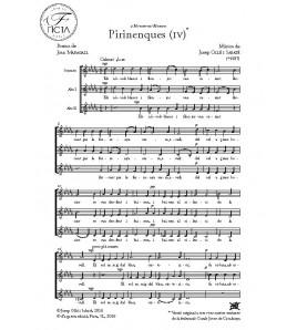 Pirinenques IV - Cor (SAA)