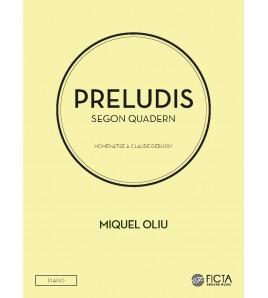 Segon quadern dels Preludis per a piano sol de Miquel Oliu