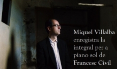 La música per a piano de Francesc Civil enregistrada
