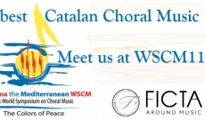 Do you participate in the World Symposium on Choral Music in Barcelona? Discover the best Catalan music.